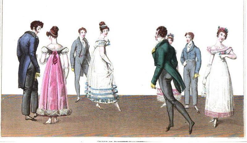 1820-06 Paris Dancers 1