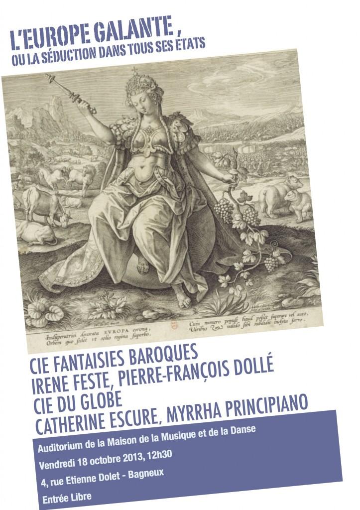 Affiche Europe Galante FB