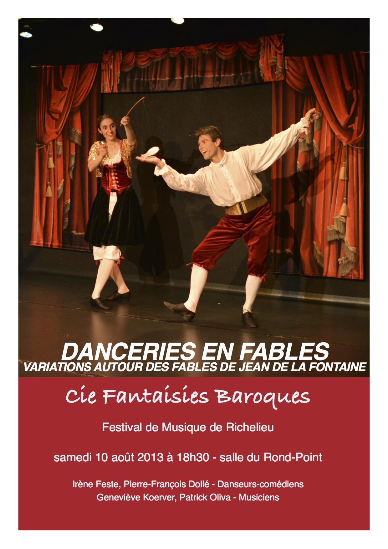 Programme La Fontaine-Richelieu 2013