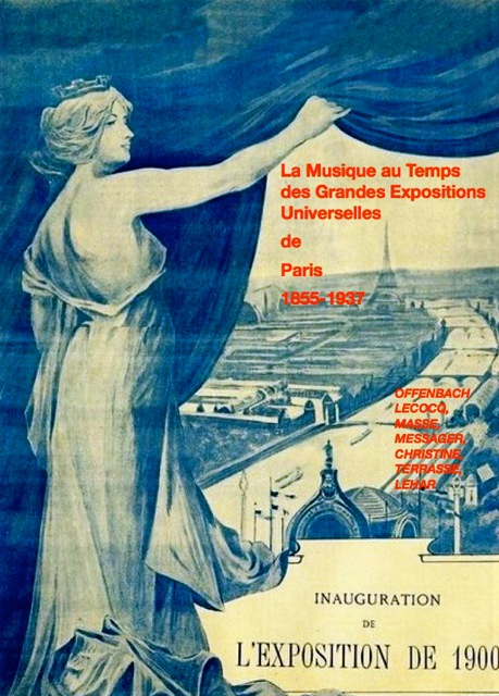 Affiche Musique au temps des grandes expositions universelles de Paris