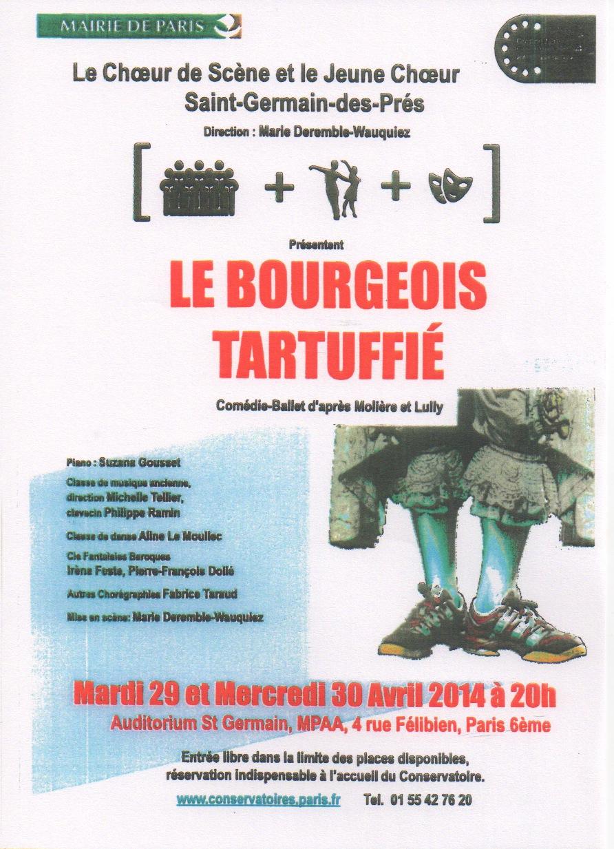 Affiche Bourgeois Tartuffie