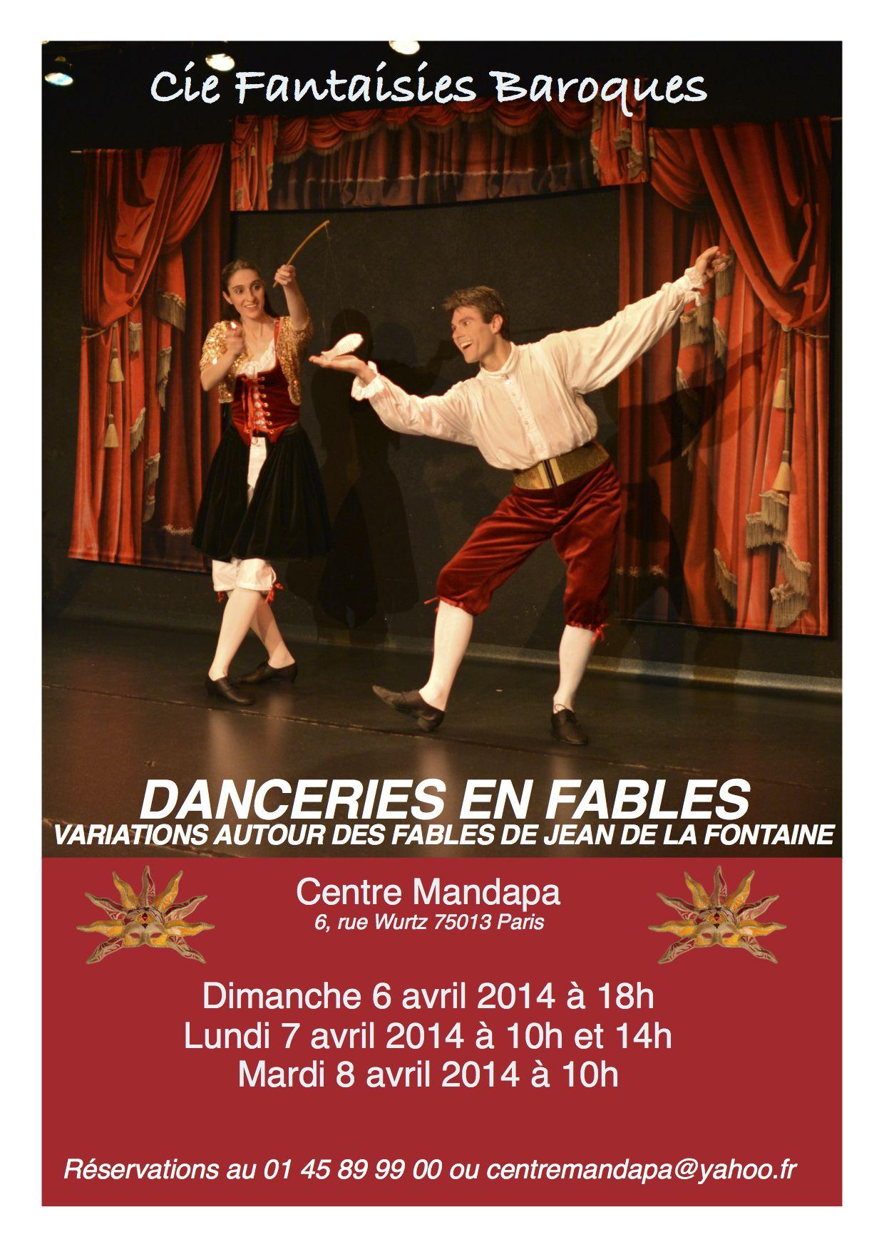 Affiche La Fontaine-Mandapa 2014