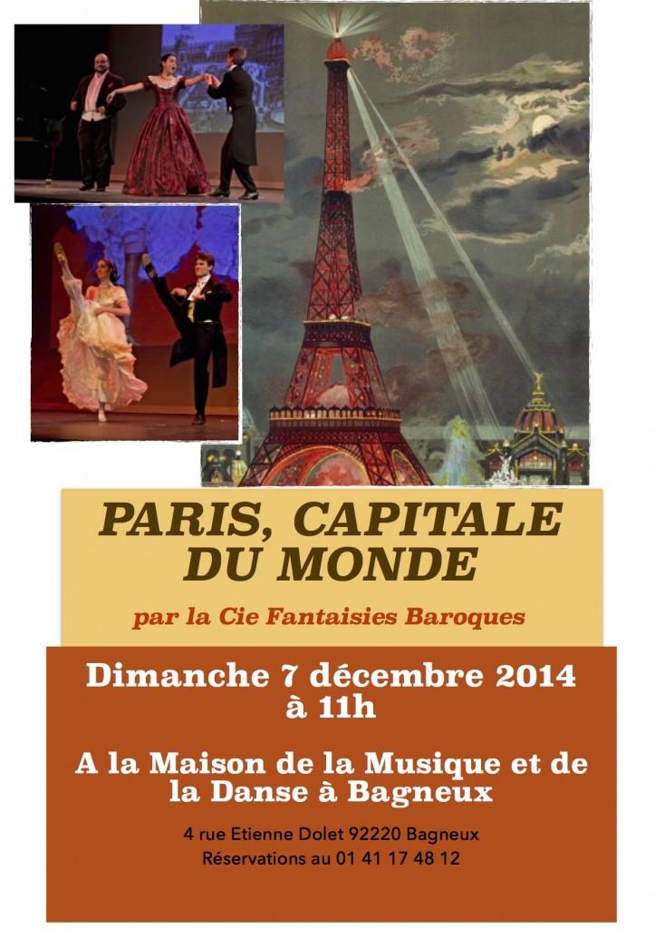 Affiche Paris Capitale du monde-FB
